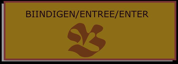 Biindigen/entree/enter